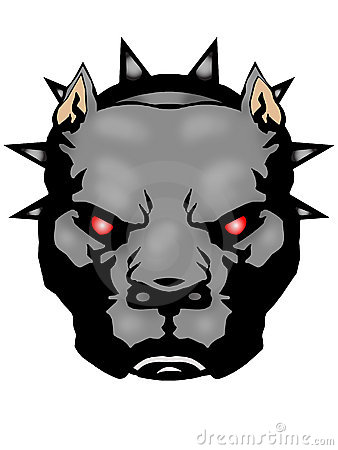 338x450 Pitbull Clipart Angry