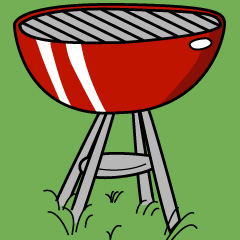 240x240 Re Bbq Nuff Said Free Clipart Images