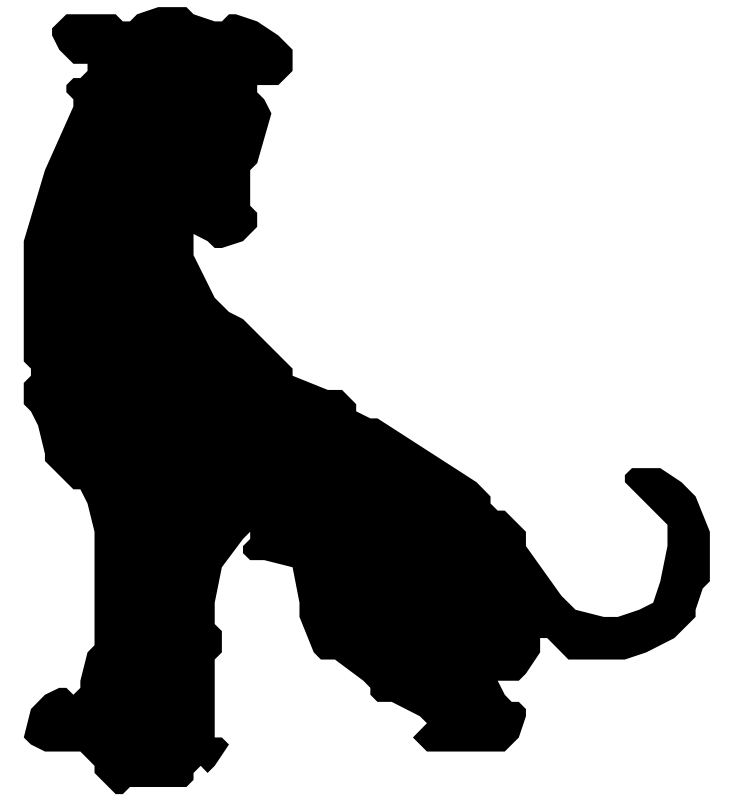 733x800 Pit Bull Clip Art