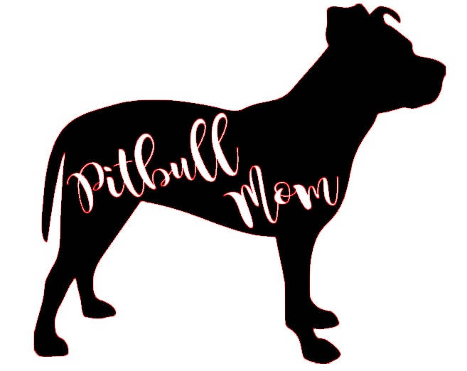 657x522 Pitbull Mom Svg File