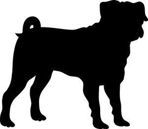 300x262 Pitbull Silhouette Clip Art (16+)