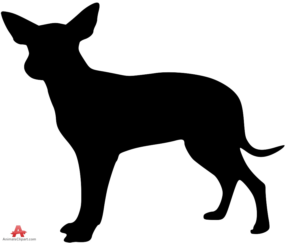 999x843 Pitbull Clipart Shadow