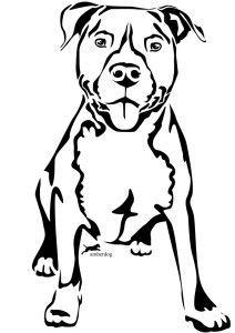 212x300 The 25+ best Desenho de pitbull ideas Tatuagem de