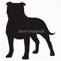 236x236 Images Of Pit Bull Silhouettes