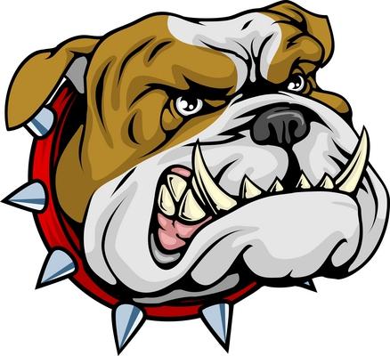 438x400 Pit Bull Clipart Vicious Dog