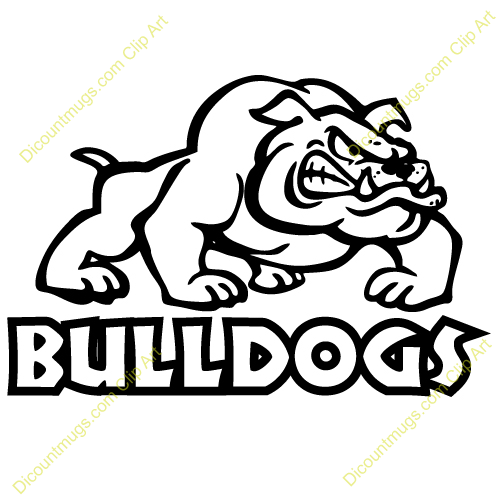 500x500 Pitbull Clipart Bulldog Baseball