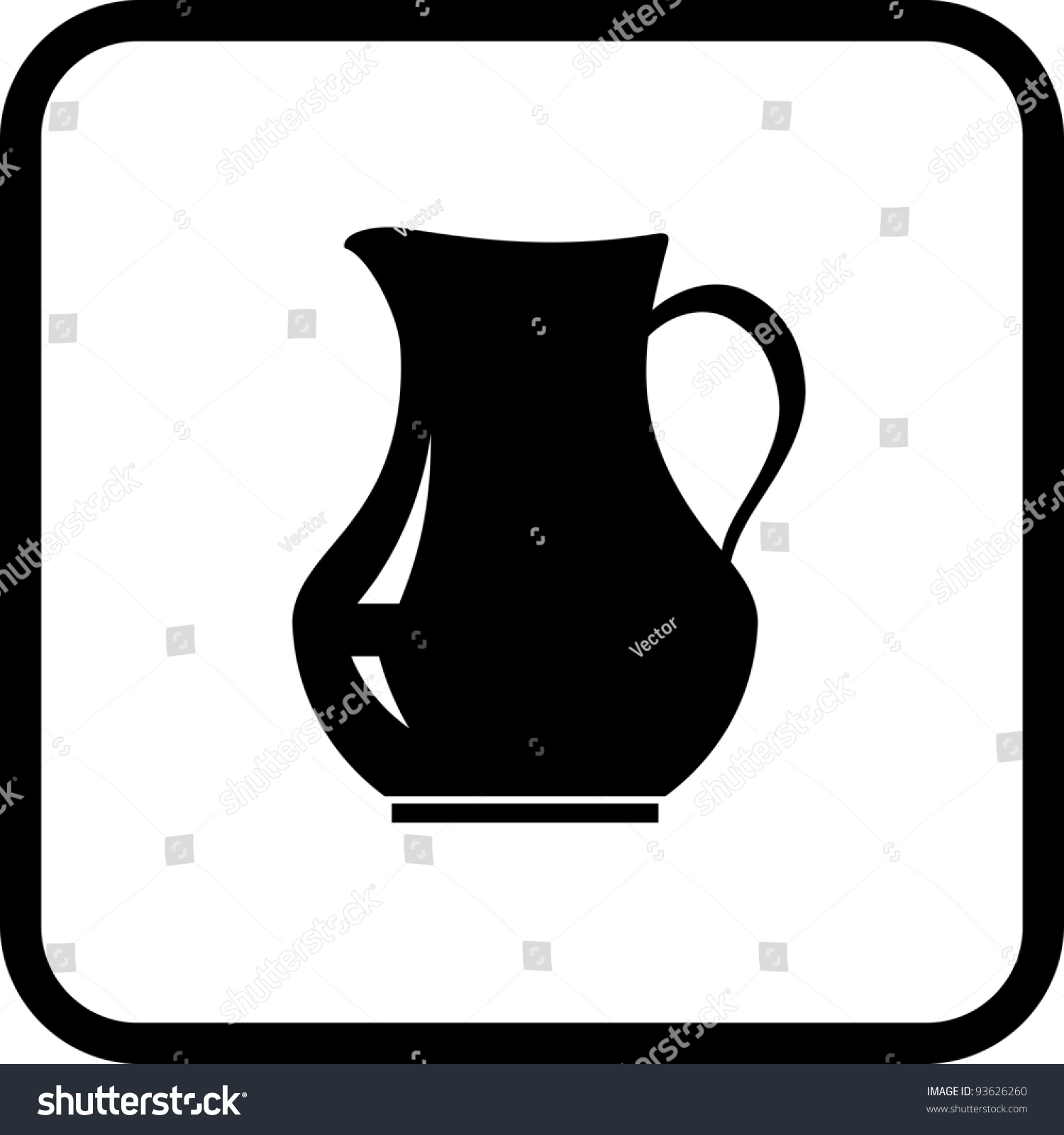 1500x1600 Pitcher Clipart Crockery