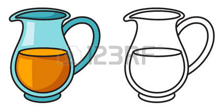 450x224 Pitcher Clipart Water Jug