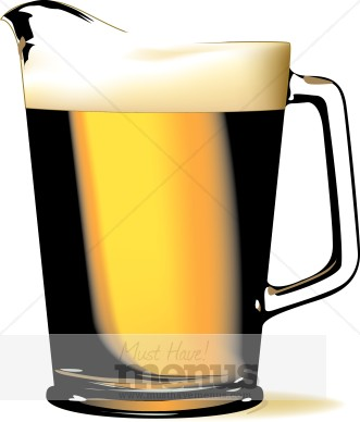 331x388 Pitcher Of Beer Clipart Beer Clipart