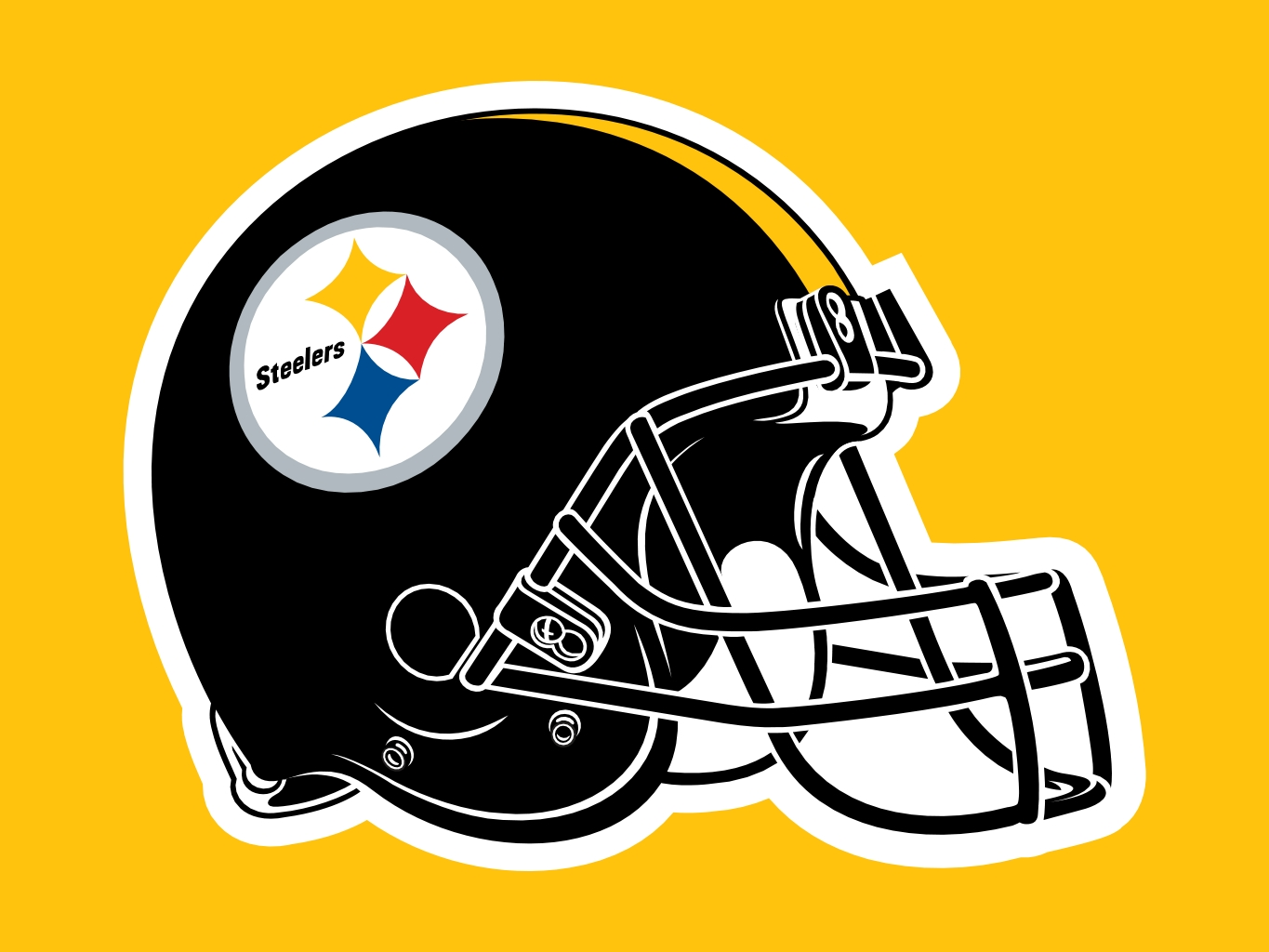 1365x1024 Pittsburgh Steelers Logo Clipart