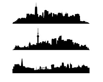 340x270 City Skyline Svg Etsy