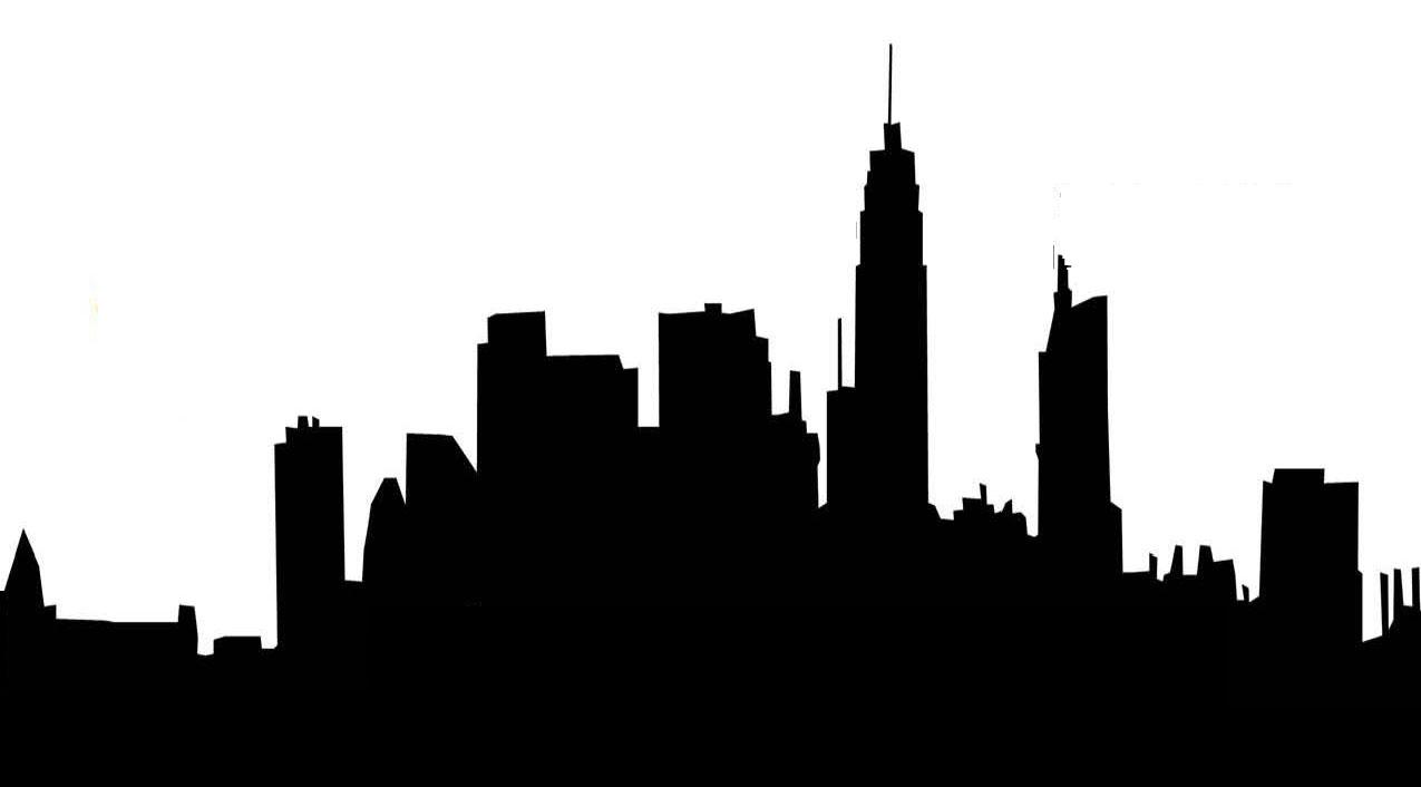 1275x706 Cityscape Clipart Silhouette