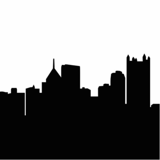 540x540 Pittsburgh Skyline Cutout