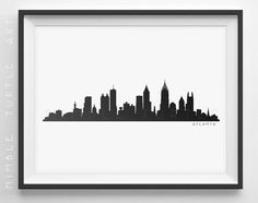 236x186 Pittsburgh Skyline Silhouette