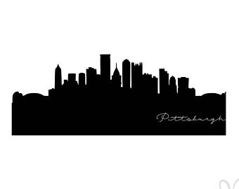 340x270 Pittsburgh Stencil Etsy