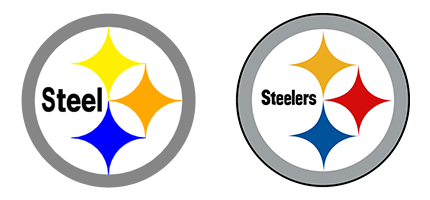 image regarding Printable Steelers Logo referred to as Pittsburgh Steelers Symbol Clipart Cost-free obtain suitable