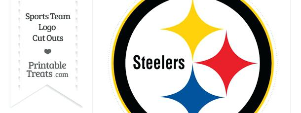610x229 Pittsburgh Steelers Logo Pictures Large Cut Out Printable Online