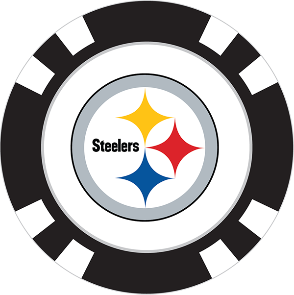 600x602 Pittsburgh Steelers Poker Chip Ball Marker
