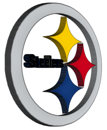346x420 Steelers Logo Clipart