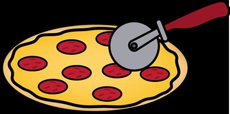 450x224 Cutting Pizza Clip Art Cutting Pizza Image