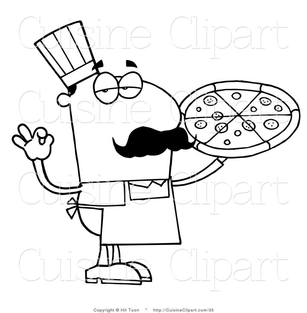1024x1044 Pizza Black And White Clipart