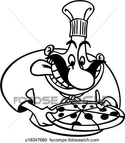 409x470 Clip Art Of , Italian, Business Signs, Italy, Restaurant, Pizza