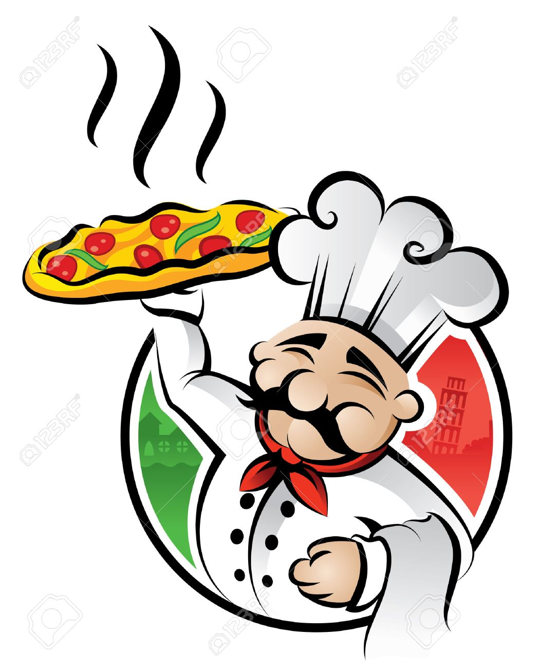 Pizza Box Clipart