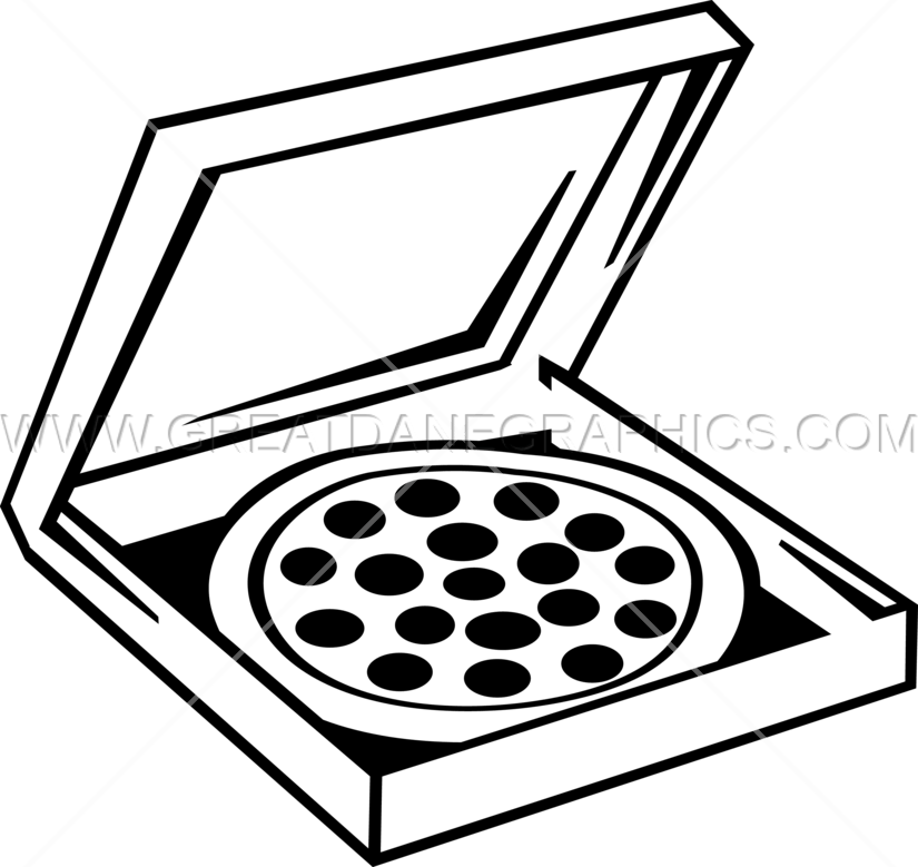 825x779 Pizza Box Production Ready Artwork For T Shirt Printing
