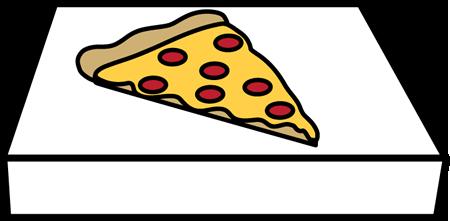 450x221 Pizza Box Clip Art