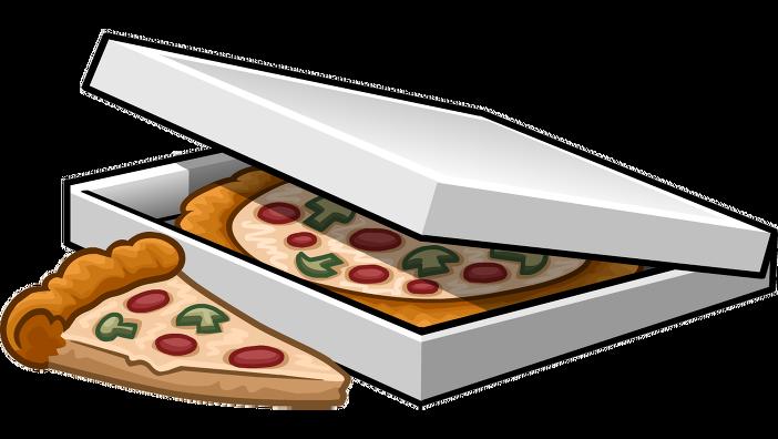 702x396 Pizza Box Clipart