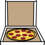 150x150 Pizza Box Clipart Pizza Clip Art Free Download Clipart Images 9