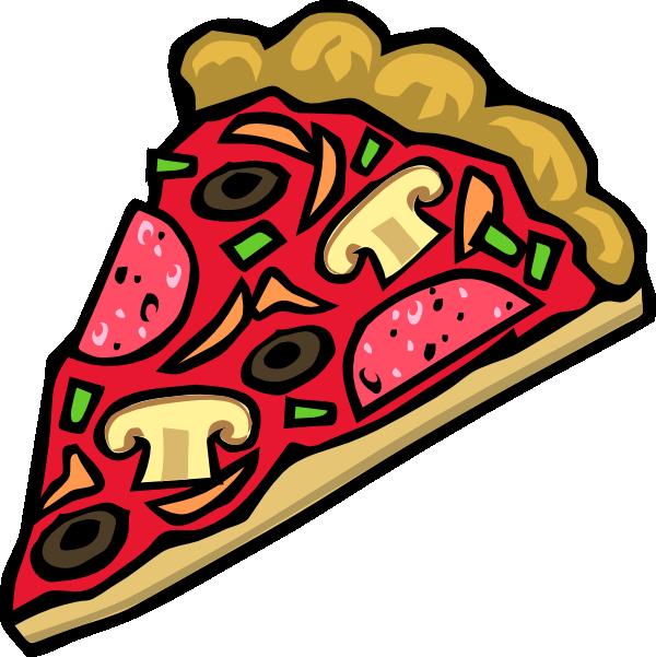 600x601 Pizza Clip Art