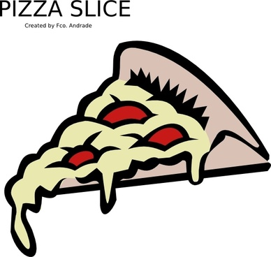 388x368 Pizza Slice Outline Free Vector Download (5,360 Free Vector)