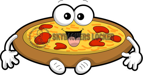 480x253 Pizza Cartoon Vector Clipart Skybacher's Locker