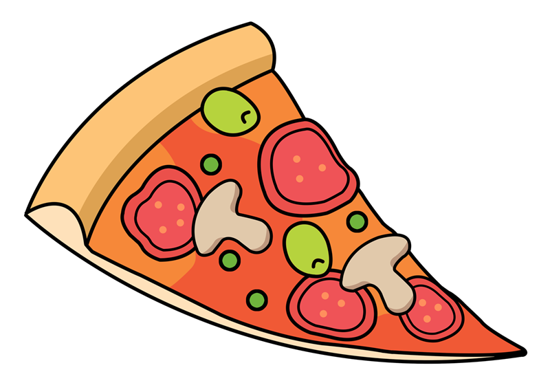 800x557 Pizza Animated Clipart