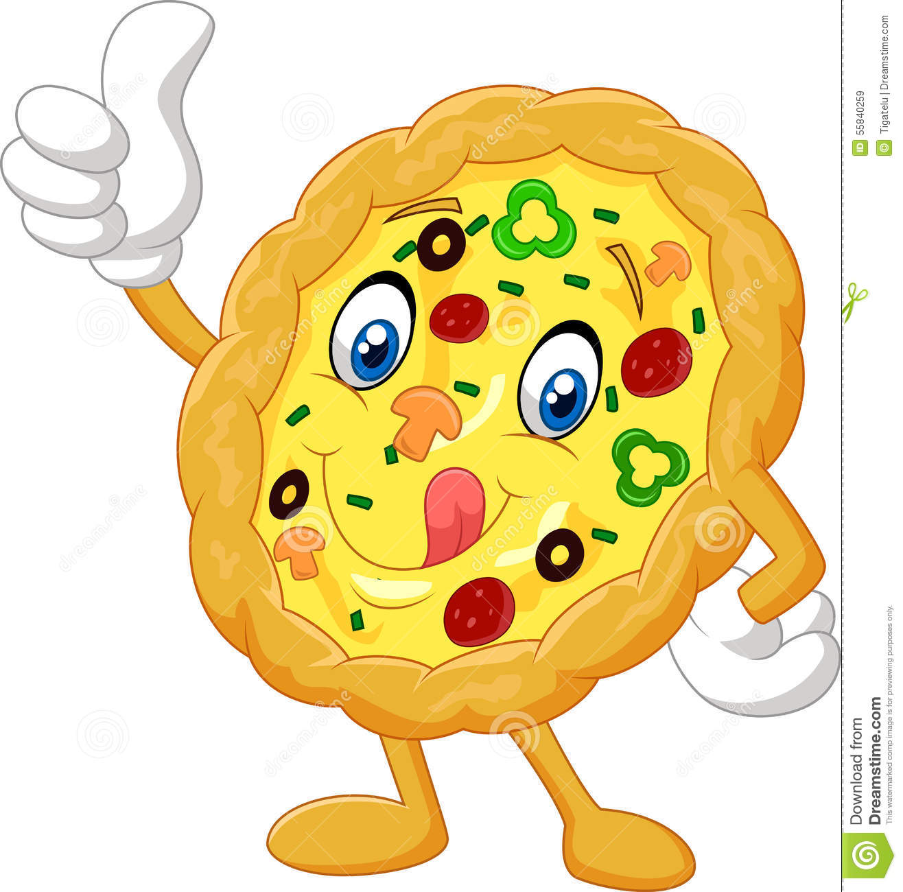 1316x1300 Pizza Clipart Thumbs Up