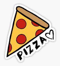 210x230 Cartoon Pizza Stickers Redbubble
