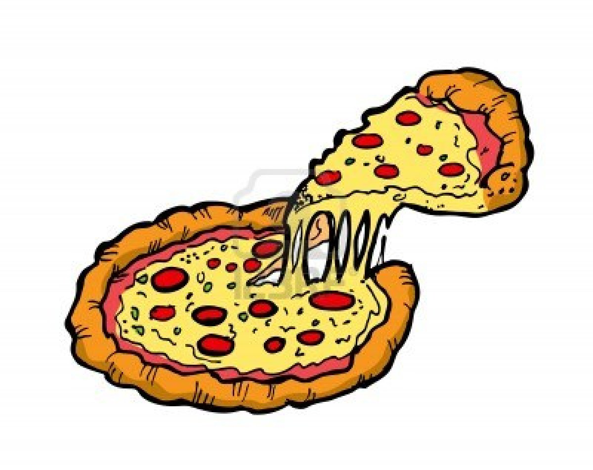 Pizza Cartoon Clipart