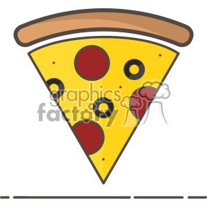 300x300 Royalty Free Pizza Vector Clip Art Icon 403841 Vector Clip Art