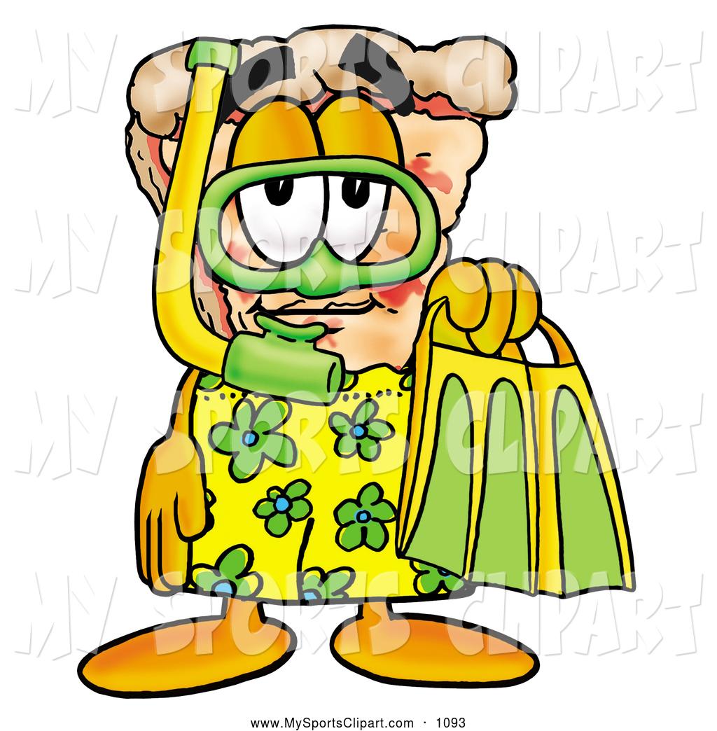 1024x1044 Sports Clip Art Of A Smiling Slice Of Pizza Mascot Cartoon