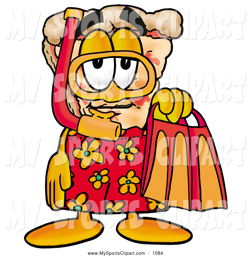 1024x1044 Sports Clip Art Of An Outgoing Slice Of Pizza Mascot Cartoon