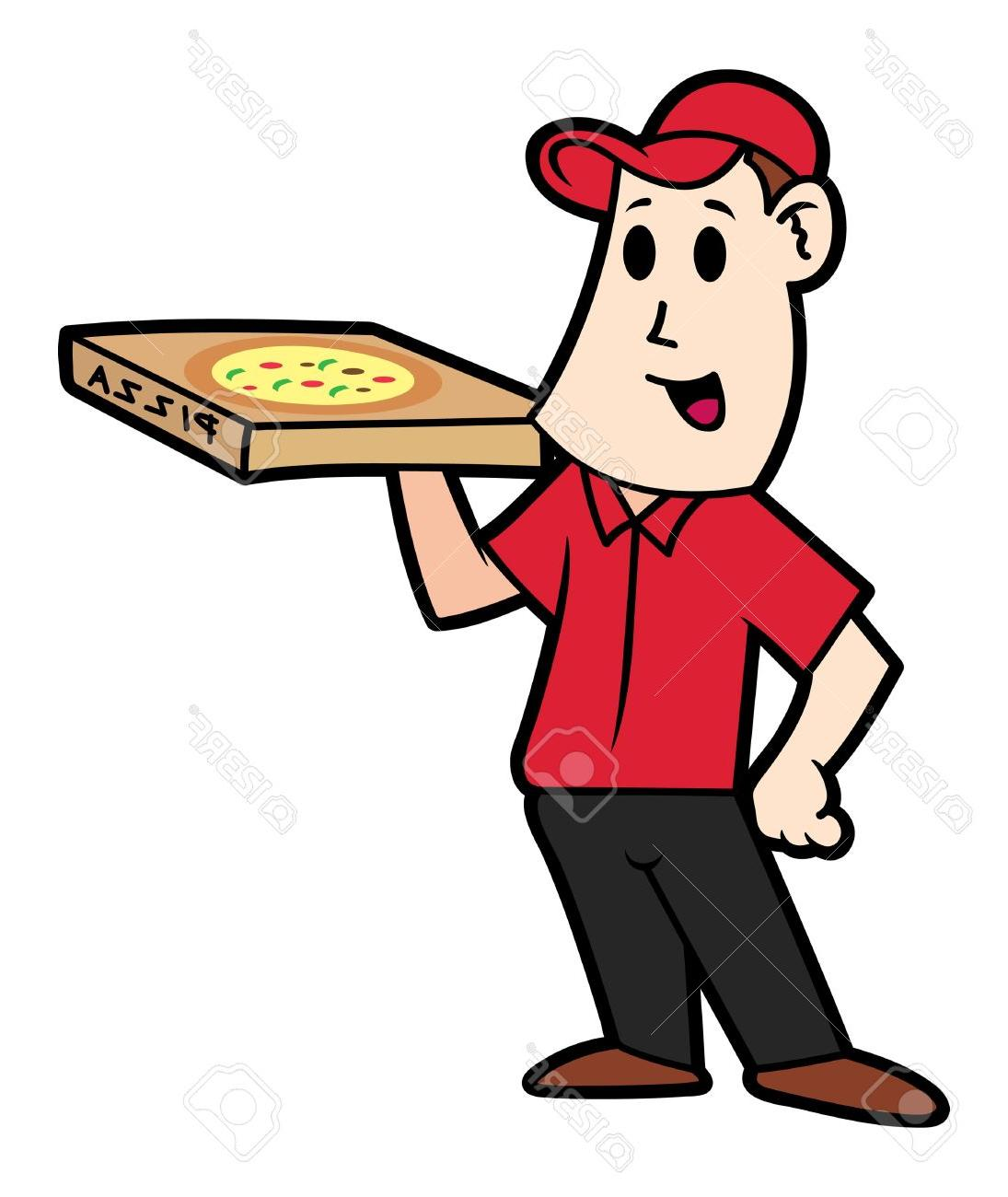 1095x1300 Best 15 Man Cartoon Clipartfest Pizza Delivery Clipart Library