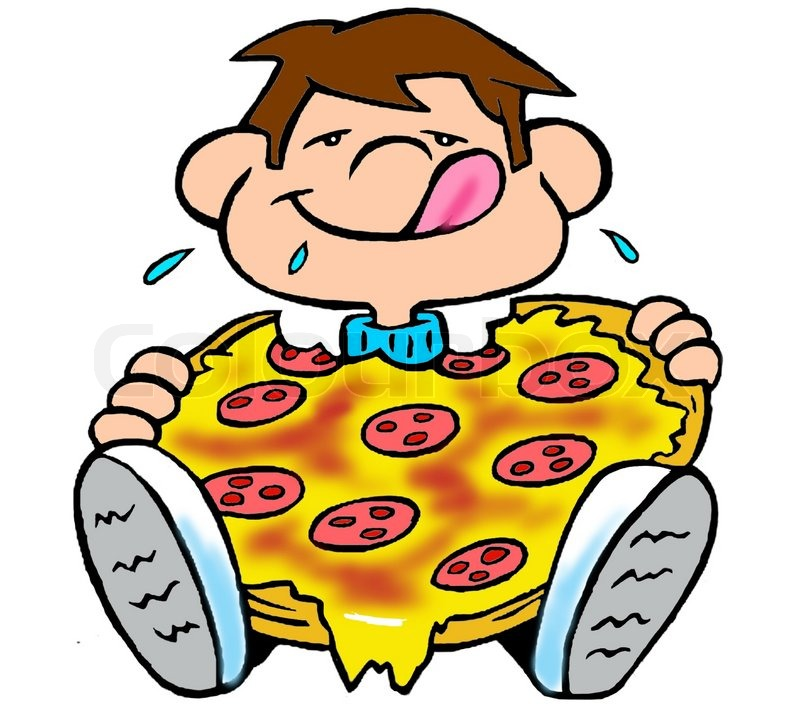 800x716 Pizza Cartoon Slice Clipart