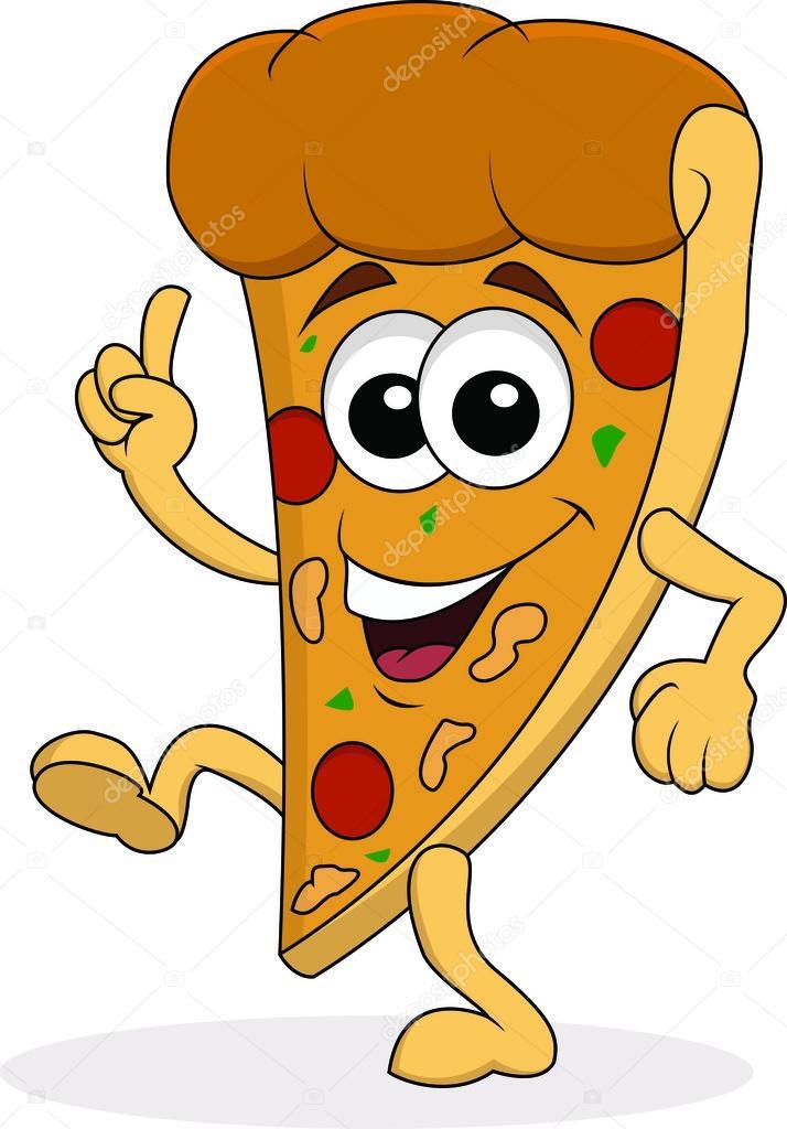 714x1024 Pizza Cartoon Character Stock Vector Idesign2000