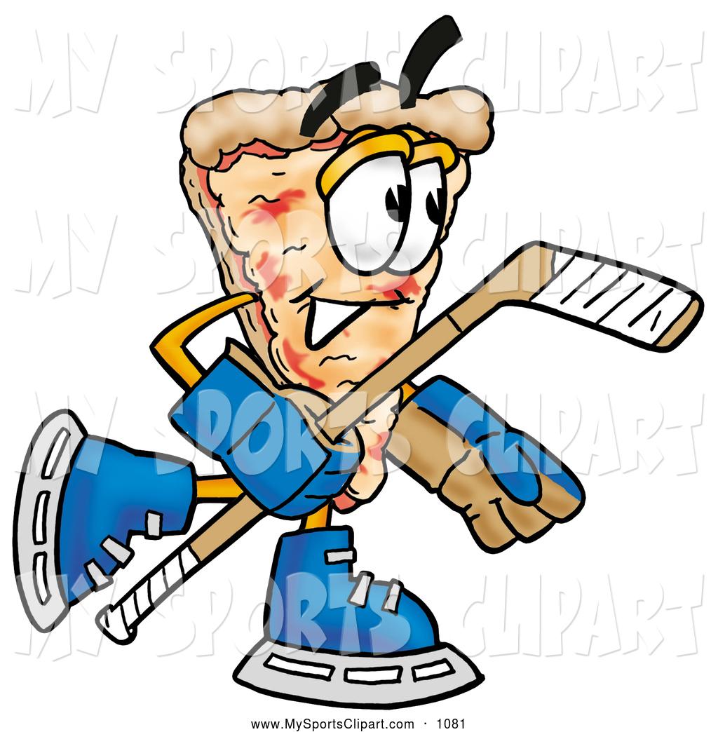 1024x1044 Sports Clip Art Of A Grinning Slice Of Pizza Mascot Cartoon