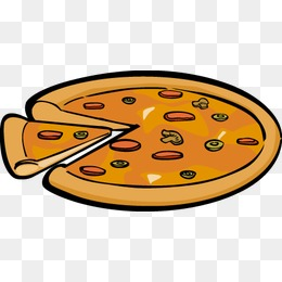 260x260 Cartoon Pizza, Pizza, Food, Cartoon Png Image For Free Download