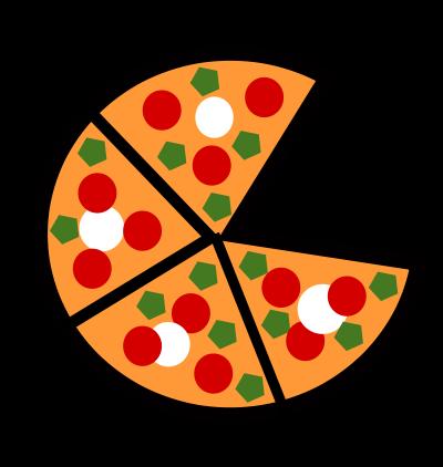 400x422 Cartoon Pizza Images