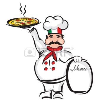 331x350 Pizza Cartoon Chef Festivals Pizzas, Cartoon