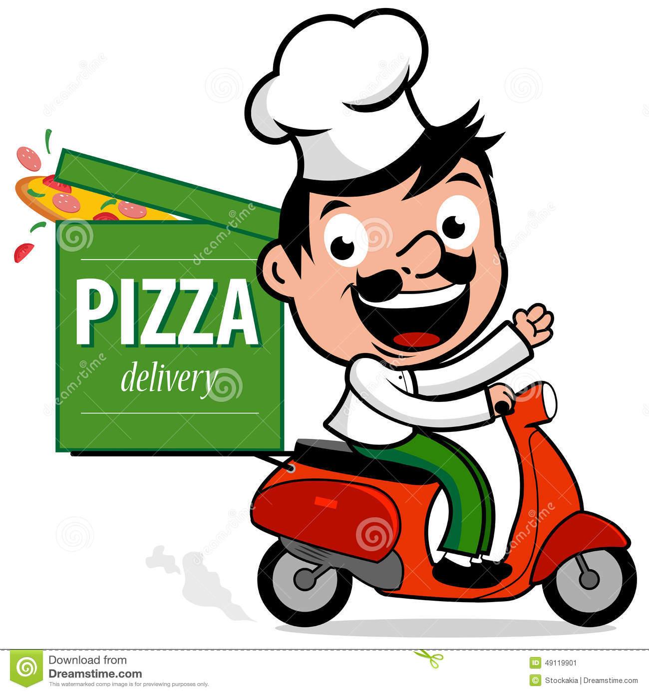 1300x1390 Cartoon Pizza Man Collection