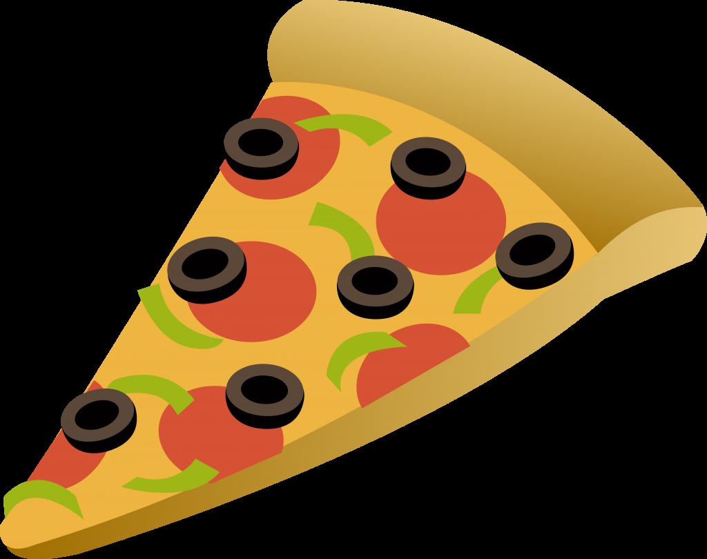 1024x810 Pizza Cartoon Slice Clipart